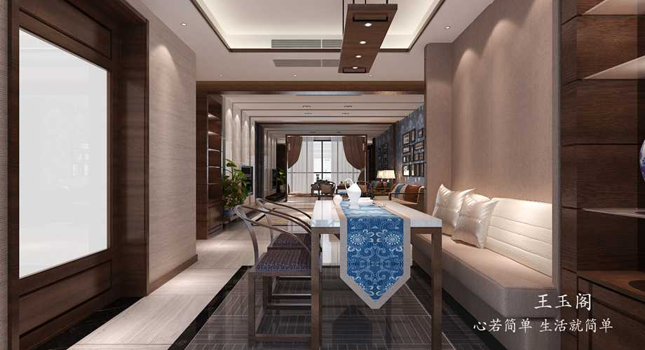 咸阳装饰公司精彩案例带来新派中式家装