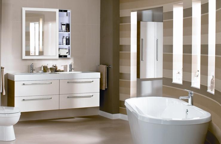 咸阳装饰公司精彩案例——洗手台要不要装镜柜?安装镜柜需要注意什么?