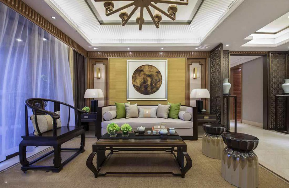 中式客厅搭配技巧