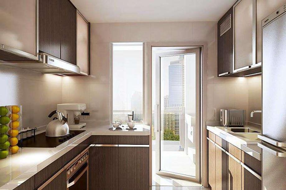 装修时怎样让小厨房不显得拥挤?